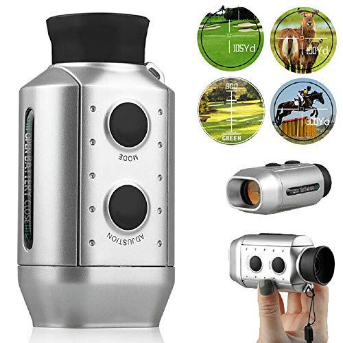 Golf Range Finder, 6X Hand-Entfernungsmesser mit Angel Scan 930 Yards Laser-Entfernungsmesser für die Jagd Golf-Entfernungsmesser messen, digitaler optischer Teleskop Taschenlaser Range Finder
