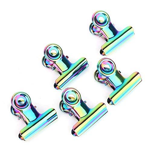 Solomi 10PCS Clips D'extension À Ongles en Acier Inoxydable Courbe C Construction Rapide Conseils De Ongles Clip Gel Nail Assistant
