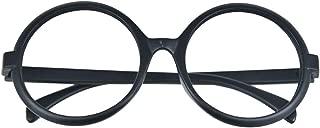 C-ZOFEK Futaba Sakura Wig or Glasses Persona 5 Cosplay Long Straight Hair 80cm (Black glasses)
