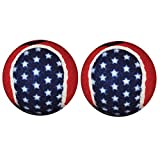 Penco Medical Walkerballs - The Original Walkerballs – 1 Pair of Patriotic