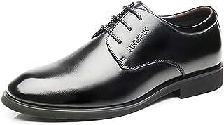 [ダキシ] 紳士靴 本革 革靴 ビジネスシューズ メンズ プレーントゥ滑り止め 通気柔軟 足痛くない 通気性抜群 フォーマル クラッシック シンプル レースアップ ウォーキング カジュアル 通気快適 オールシーズン 仕事履き