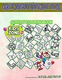 Gigantic Dinosaur Coloring Book For Kids: 45 Coloring Monolophosaurus, Eonatator, Tyrannosaurusrex, Corythosaurus, Albertonectes, Graciliceratops, ... Image Quiz Words Activity And Coloring Books