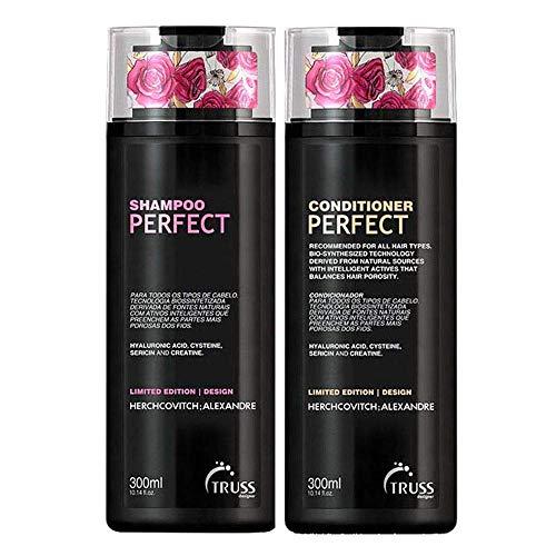 Shampoo e Condicionador Truss Herchcovitch ; Alexandre Perfect