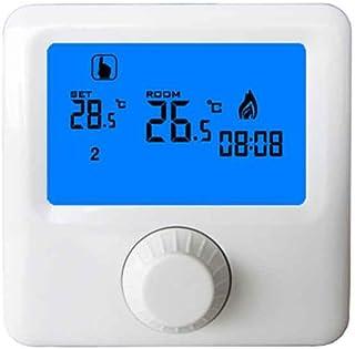 Festnight Thermostat Chaudi/ère Gaz Chauffage Programmable /Écran Tactile 3A LCD Tactile Room Temperature Controller Intelligent HVAC Accessoires M/énage R/églage Chauffage Electrique