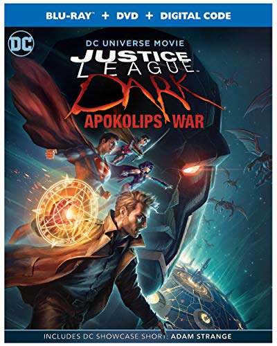 Justice League Dark: Apokolips War (Blu-ray + DVD + Digital)  $5.99 at Amazon