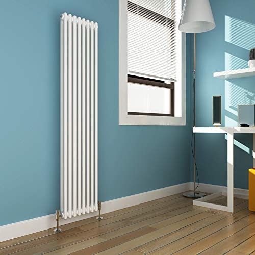ELEGAN 1500 x 376 mm Traditional Radiator Vertical...