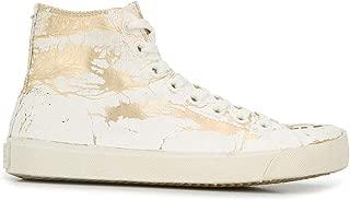 Maison Margiela Luxury Fashion Womens S58WS0111P3049H1800 White Hi Top Sneakers | Fall Winter 19