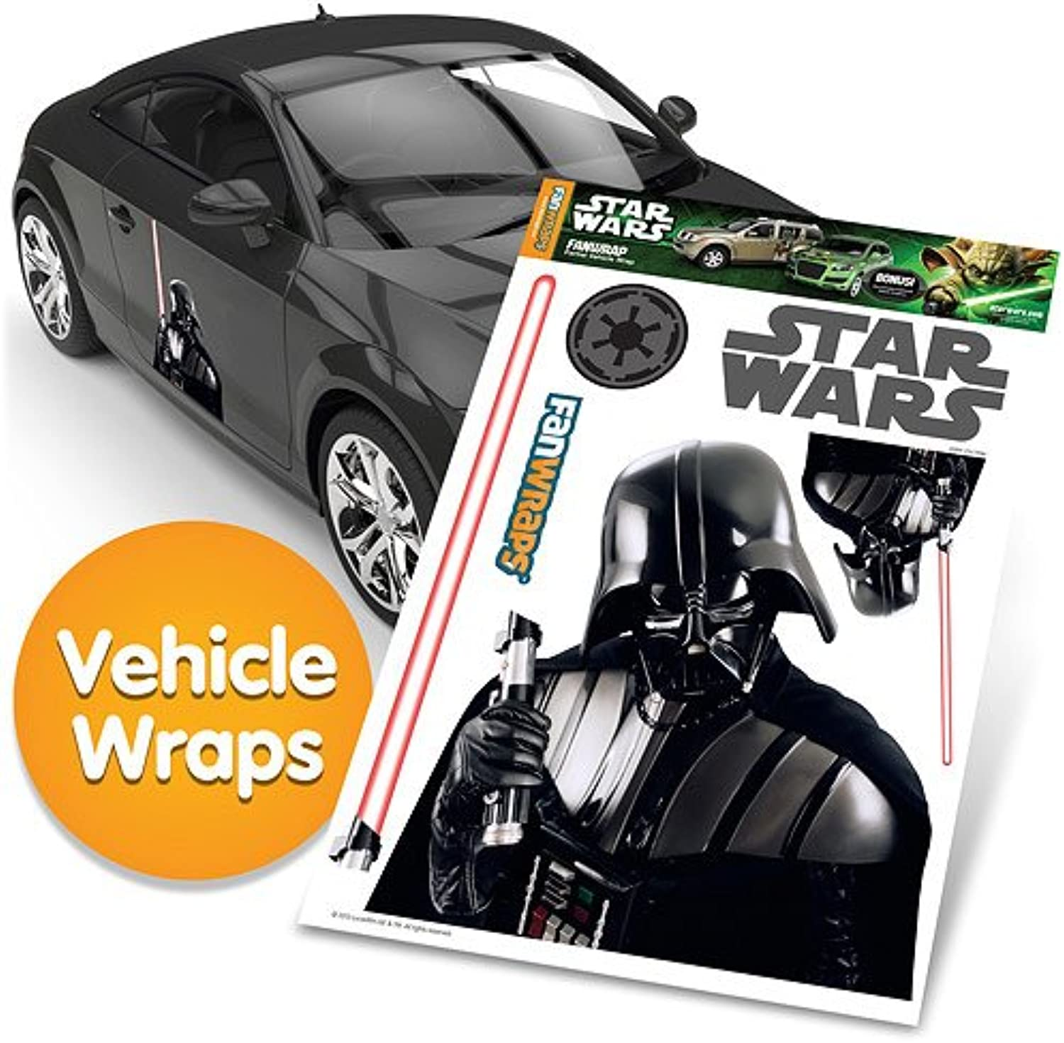 FanWraps Star Wars Darth Vader with Saber Single Kit
