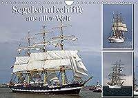 Segelschulschiffe aus aller Welt (Wandkalender 2022 DIN A4 quer): Segler auf Nord- und Ostsee fotografiert. (Monatskalender, 14 Seiten )