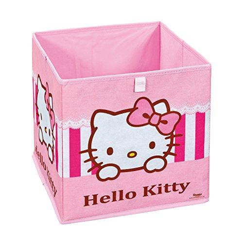 Inter Link Faltbox Aufbewahrungsbox Korb Faltkiste im Hello Kitty Stil