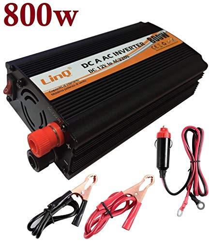 Inversor de corriemte Transformador Conversor Mechero Coche 1000W USB 220V 4133