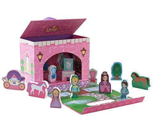 KidKraft Travel Box - Fairytale Princess Playset