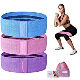 CHOOYOU Resistance Bands for Legs and Butt, Exercise Bands Workout Bands for Men/Women, Non Slip Elastic Booty Bands for Glute Hip Squats Training, Home Gym Fitness Bands for Yoga, Pilates …