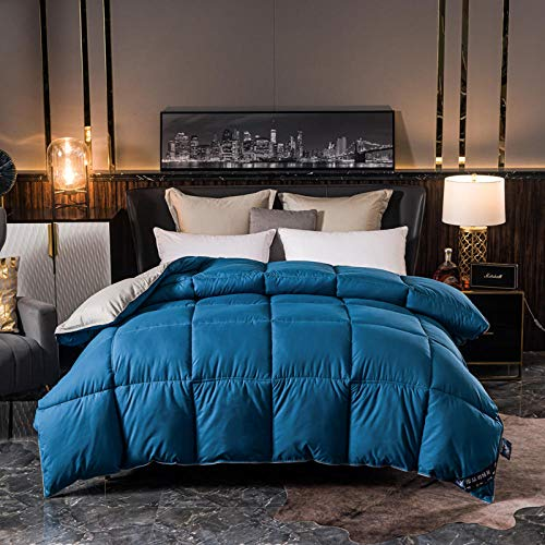 CHOU DAN colchas edredones,Bounceback 10.5 TOG Duvet,Double Duvet 15 TOG Filled Multi-Purpose Duvet Double/Double Extra Large 220 * 240cm 4000g
