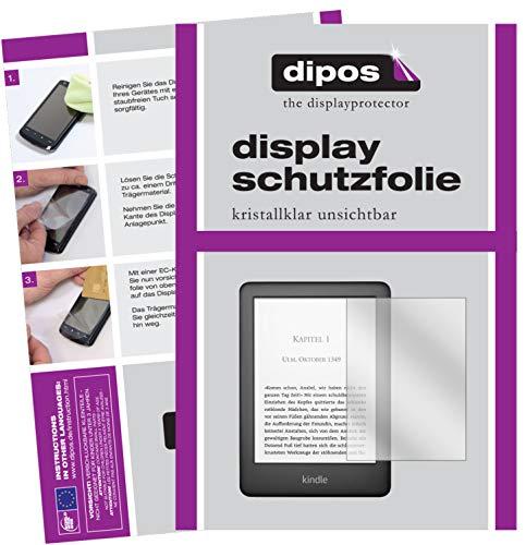 dipos I 2X Schutzfolie klar kompatibel mit Amazon Kindle E-Reader der 10. Generation...