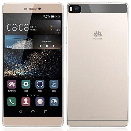 Huawei P8 Hülle, Bingsale Ultra Slim TPU Hülle Huawei P8 Silikon Schutzhülle (transparent, Huawei P8)
