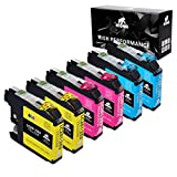 IKONG Compatible Ink Cartridge Replacement for Brother 203 203XL Works with Brother MFC-J4320DW MFC-J4420DW MFC-J4620DW MFC-J5520DW MFC-J5620DW MFC-J5720DW MFC-J480DW J485DW J460DW J880DW J680DW