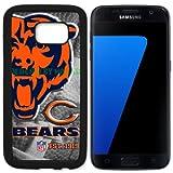 Bears Chicago Football New Black Samsung Galaxy S7 Edge Case By Mr Case