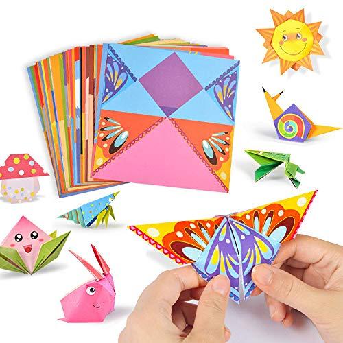 mamut Papiroflexia Estilo Montessori de 54 páginas para niños, 3D Origami, Paso a Paso