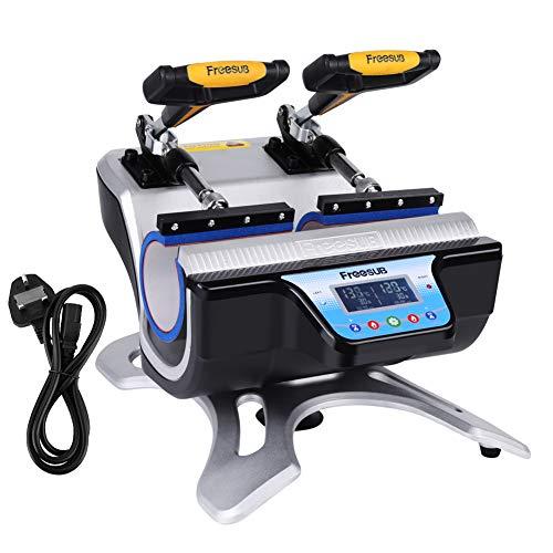 Double Stations Mug Heat Press ST-210 Sublimation Transfer Printing...