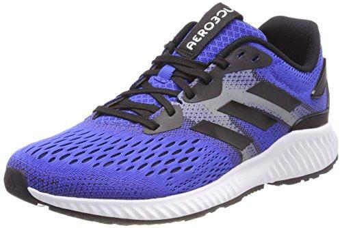 Adidas Aerobounce M, Zapatillas de Trail Running Hombre, Azul (Azalre/Negbás/Negbás 000), 44 EU