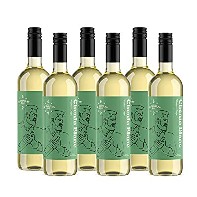 Amazon Brand - Compass Road Chenin Blanc, South Africa (6x75cl)