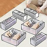 Auflosung 6 Pack Organizador Cajones Ropa Interior Plegable Cajas Organizadoras...