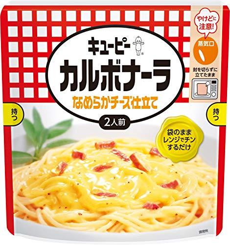 キユーピー カルボナーラ なめらかチーズ仕立て 255g ×4袋