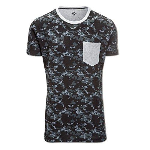 Borussia Dortmund 1909-T-Shirt (Camouflage) M