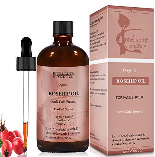 Olio puro di rosa mosqueta, 100% organico e...