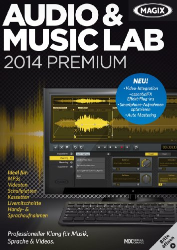 MAGIX Audio & Music Lab 2014 Premium [Download]