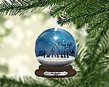 Snow Globe Nativity Christmas Ornament, Snowglobe, Personalized, Name Ornament, Custom Christmas Holiday, Gift for Mom, Family Gift