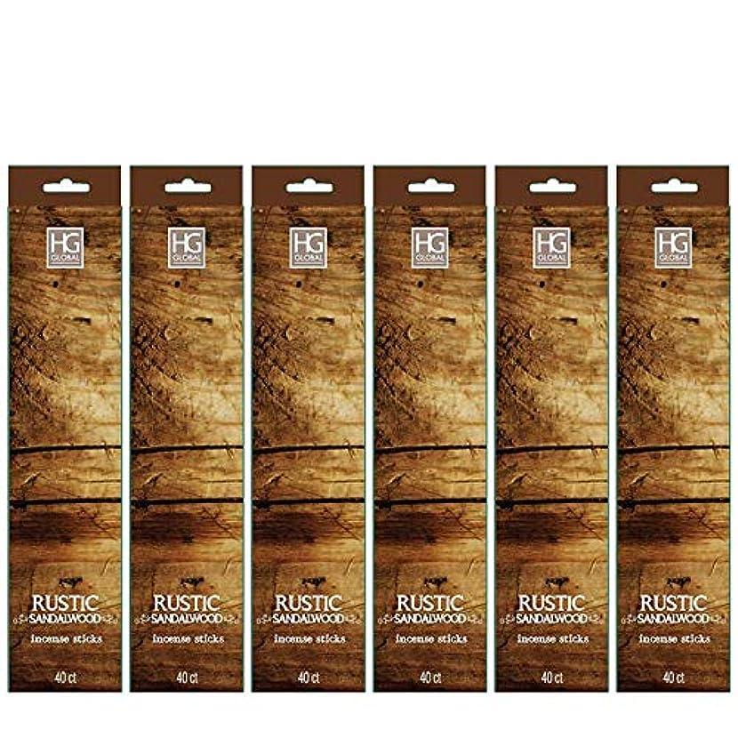 代替維持する嬉しいですHosley's 240 Incense Sticks/Approx. 240 gm. RUSTIC SANDALWOOD Highly Fragranced Incense Infused with Essential Oils. Ideal GIFT for Party Favour, Weddings, Spa, Reiki, Meditation, Bathroom Settings