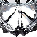 KADAX Trinkgläser aus hochwertigem Glas, 6er Set, Wassergläser, dickwandige Saftgläser, geriffelte Gläser für Wasser, Drink, Saft, Party, Cocktailgläser, Getränkegläser (niedrig, 300ml) - 7
