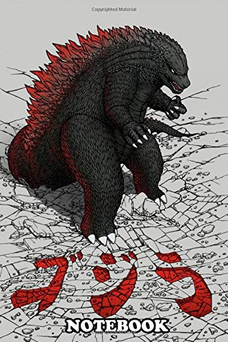 Notebook: Daikaiju Gojira , Journal for Writing, College Ruled Size 6