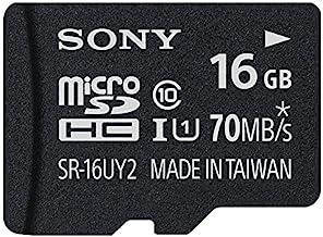 ソニー microSDHCカード 16GB Class10 UHS-I対応 SDカードアダプタ付属 SR-16UY2A [国内正規品]