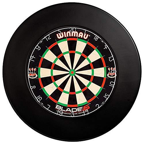 DARTS Sport Edition Winmau Set mit Dartboard Blade 5 Surround schwarz