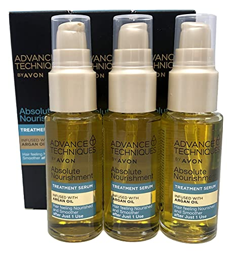 3 x Avon Advance Techniques Haapflegerserum mit Marokko Arganöl je 30ml