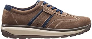 JOYA David Brown/Blue Herren Sneaker aus Wildleder