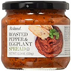 A smoky and aromatic spread packed full of red pepper and eggplant Perfect served as a dip alongside pita chips or crudités Delicious served warm alongside grilled meats and sausages