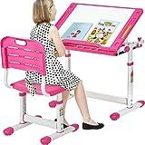 FDW Kids Desk Children Writing Student Desk Drafting Table Height...