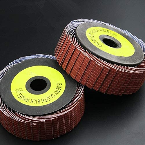 BilichipShop Abrasive Cloth Austin Mall Wheel Wood Max 82% OFF Polish Sandpaper Grinding