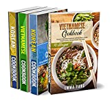 Asian Flavors: 4 Books in 1: 280 Recipes For Spicy And Tasty Vietnamese And Korean Food