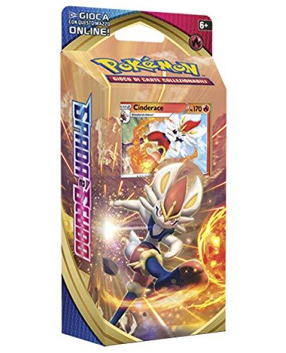 Pokémon Espada y Escudo Mazo temático Cinderace (Edición Italiana)