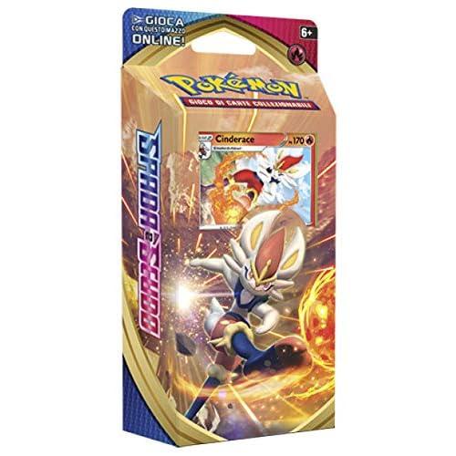 Pokemon Spada e Scudo Mazzo tematico Cinderace (Edizione Italiana)