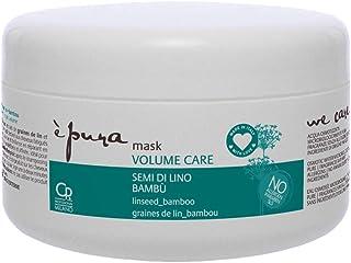 È Pura - Maschera Volume Care - Trattamento Professionale Intensivo Volumizzante per Capelli Fini - 300 ml