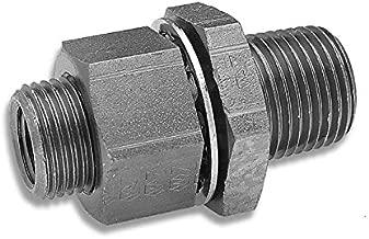 Edelmann 908284 Bulkhead Coupling for Air Brake Systems - 1/2