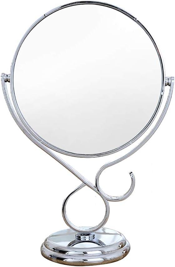 European Style Double-Sided Desktop Makeup Mirror 3X Sale item Single Side outlet