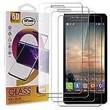 Guran 4 Paquete Cristal Templado Protector de Pantalla para VKworld F1 Smartphone 9H Dureza Anti-Ara?azos Alta Definicion Transparente Película