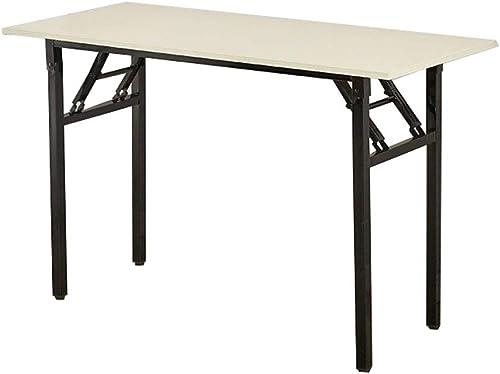NJLC Table Pliante, Table Pliante ExtéRieure De Table Pliante Rectangulaire Simple Tables,120×40×75cm